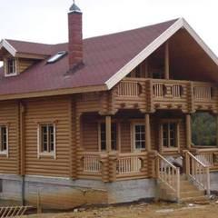 Casas de madera de estilo  por selin tomruk evleri