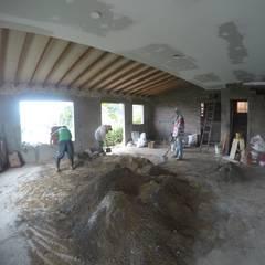 Casa CG: Comedores de estilo  por Le.tengo Arquitectos, Rural