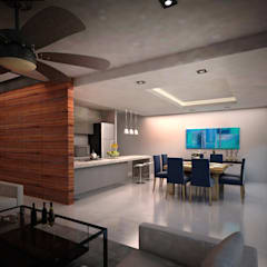 ห้องทานข้าว by Art.chitecture, Taller de Arquitectura e Interiorismo 📍 Cancún, México.