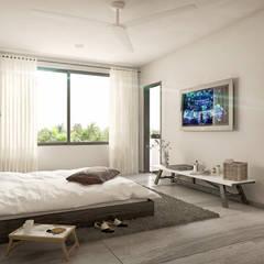 غرفة نوم تنفيذ Taller Veinte