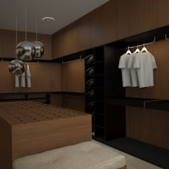 Dressing room by Vau Studio