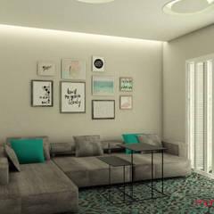 casa BG: Salas de estar clássicas por Mais Arquitetura 34