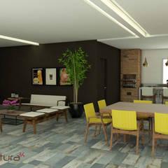 Garajes y galpones de estilo  por Mais Arquitetura 34