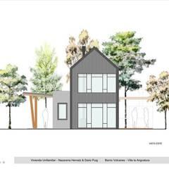 Vista frente: Casas de estilo  por Paico