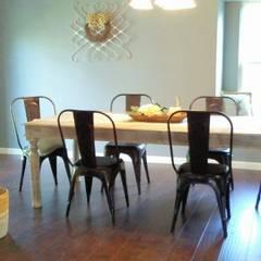 Home Staging San Antonio Tx Leon Valley: Comedor: Comedores de estilo rural por Noelia Ünik Designs