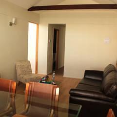Remodelacion y ampliación Casa G.: Livings de estilo  por Toledo estudio Arquitectos