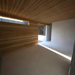 Casa Jara-Andrade, Iquique... Tramas, vacío y luz.: Bodegas de estilo  por Toledo estudio Arquitectos