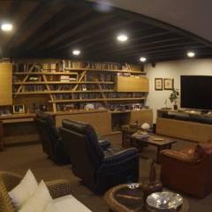 P249_CGD14: Estudios y despachos de estilo moderno por Más Lados Arquitectura