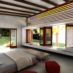 CASA L1_ San Jerónimo - Antioquia Casas de estilo minimalista de @tresarquitectos Minimalista