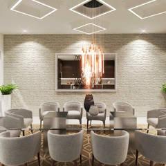 Área de comedor. : Comedores de estilo moderno por HZH Arquitectura & Diseño