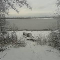 Дом на берегу реки Кама: Зимние сады в . Автор – АН 'АСМ',