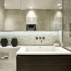 Small Bathroom:  Bathroom by Tailored Living Interiors