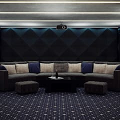 Media room by InsaitDesign