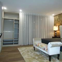 Mobiliário e decoração Moradia Quartos rústicos por AS-Arquidesign Rústico