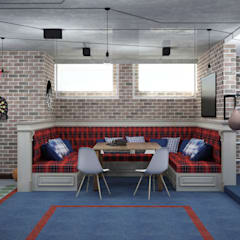 industrial Nursery/kid's room by InsaitDesign