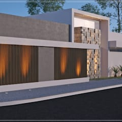 Casa Village 02: Casas modernas por Alessandro Ramos Arquitetura