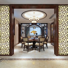 CNC Carving Faux Alabaster in China:  Dining room by ShellShock Designs