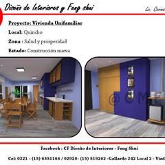 Vivienda Unifamiliar: Garajes de estilo  por CF Diseño de interiores y Feng Shui