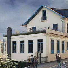 043.FF.14 | DesArts Hostel & Suits: Hotéis  por Just an Architect | João Abreu Arquitectos