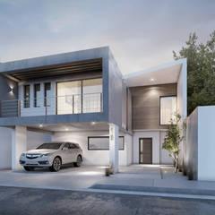 منازل تنفيذ Pure Design