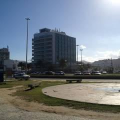 EXPANSÃO FINALIZADA EM 2012: Terraços  por STEEL PROJETOS
