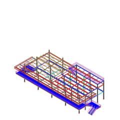 MODELAGEM 3D: Corredores e halls de entrada  por STEEL PROJETOS