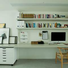 ห้องทำงาน/อ่านหนังสือ by homify