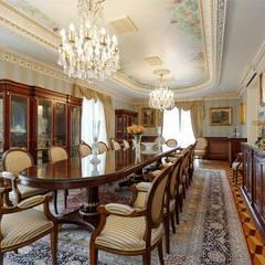 Inan AYDOGAN /IA  Interior Design Office – NG PALACE: klasik tarz tarz Yemek Odası