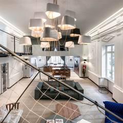 Inan AYDOGAN /IA  Interior Design Office – LUXXE LOFT:  tarz Koridor ve Hol