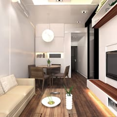 6/F TOWER 6 METRO TOWN PHASE 2 LE POINT:  Dining room by Much Creative Communication Limited