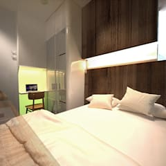 6/F TOWER 6 METRO TOWN PHASE 2 LE POINT:  Bedroom by Much Creative Communication Limited