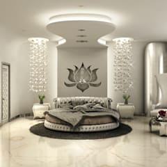 Serene Bedroom: classic Bedroom by AAMRAPALI BHOGLE