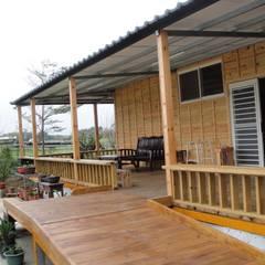 客製化休閒鋼構木屋-2:  房子 by 鄉村東和鋼構木屋