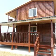 خانه ها توسط鄉村東和鋼構木屋, کانتری
