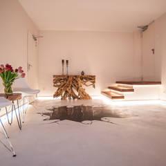 Kosmetik Studio:  Geschäftsräume & Stores von Moreno Licht mit Effekt