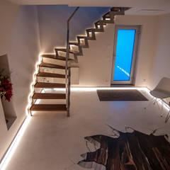 Beleuchtete Treppe:  Bars & Clubs von Moreno Licht mit Effekt