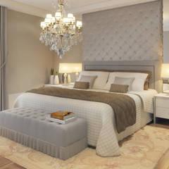 Apartamento ITAIM: Quartos  por STUDIO GUTO MARTINS,Clássico