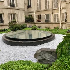 Un jardin japonais sur un toit de Paris : Jardin de style de style Asiatique par JARDIN JAPONAIS