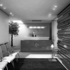 Oficinas y Tiendas de estilo  por gOO Arquitectos,