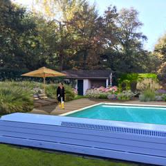 JARDIN DE GRAMINÉES & VIVACES // Eragny-sur-Oise (95)  : Jardin de style de stile Rural par Sophie coulon - Architecte Paysagiste