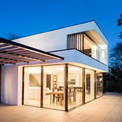 White Oaks Glazed Doors:  Windows  by Barc Architects