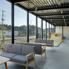 Office of  YES company : 西谷隆建築計画事務所が手掛けたオフィススペース&店です。