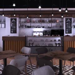 Meteor Mimarlık & Tasarım – CAFE   ANKARA :  tarz Yeme & İçme