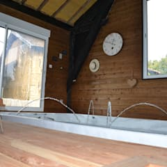 Le spa de nage: Spa de style de stile Rural par KREA Koncept
