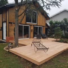 Projet finalisé: Spa de style de stile Rural par KREA Koncept