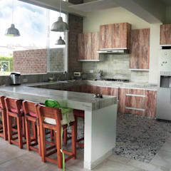 rustic Kitchen by malu goni