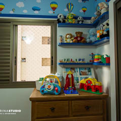 Nursery/kid's room by Camarina Studio