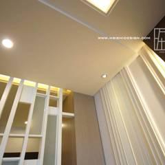 牆面線板拼貼:  牆面 by 協億室內設計有限公司