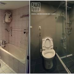 高雄左營 黃公館:  浴室 by 協億室內設計有限公司