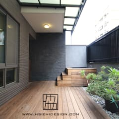 Terrasse de style  par 協億室內設計有限公司